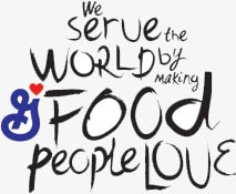 we serve the worl dby making food people love
